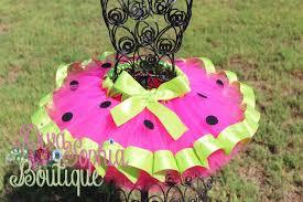 ribbon tutu watermelon ribbon tutu boutique