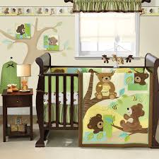 Jungle Themed Nursery Bedding Sets by Amazon Com Bedtime Originals Honey Bear 3 Piece Crib Bedding Set