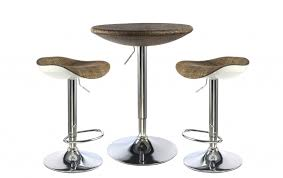 Wine Bar Table Furniture Bar Table And Stools Set Industrial Crank Pub Two Wine