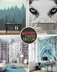 ten breathtaking wall murals for winter time best of interior design wintery wall murals