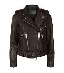 Designer Womens Leather Jackets Harrods Com