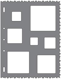 fiskars shape template squares 123stitch com