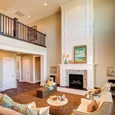 Interior Design Pictures Of Homes The 25 Best Two Story Fireplace Ideas On Pinterest Large Living