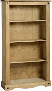 Pine Living Room Furniture by Corona Mexican Pine Bookcase Mexican Living Room Furniture