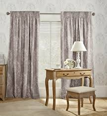 buy french damask printed pencil pleat curtains from the next uk