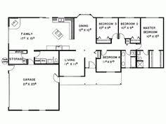 Impressive 4 Bedroom House Plans Impressive Design Small 4 Bedroom Ranch House Plans 1 Bedroom Free