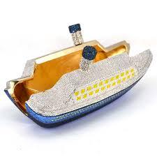 aliexpress com buy fashion crystal ship designer clutch bag
