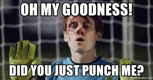 Sterling Meme - oh my goodness did you just punch me scott sterling meme