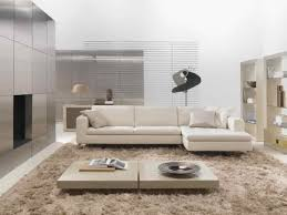living room minimalist decor of living room with metallic wall