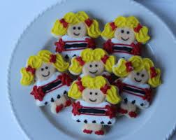 cheerleading cookies etsy