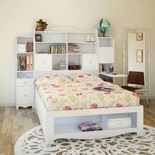 White Bookshelf Headboard by Full Tall Bookcase Headboard In White 317303