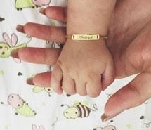 baby gold bracelet with name mekyub via image 2413352 by patrisha on favim