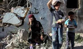 unicef siege half million children live siege in syria unicef the daily