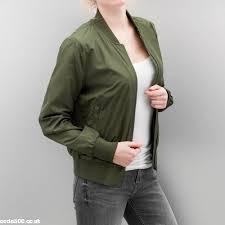 light bomber jacket womens urban classics women bomber jacket ladies light in green xjzhmqk