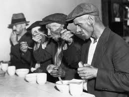 soup kitchens and breadlines pictures the great depression