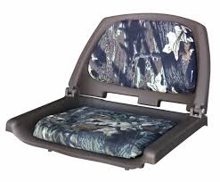 amazon com wise folding boat seat with plastic frame and cushion