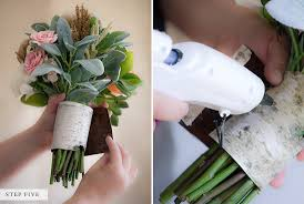 How To Make A Bridal Bouquet How To Make A Fake Flower Bridal Bouquet Bridalpulse