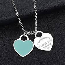 stainless steel necklace pendants images Tiffany inspired steel heart necklace pendant gold stainless steel jpg