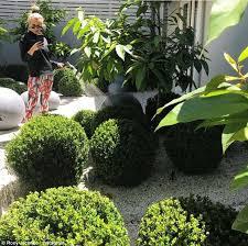 roxy jacenko waters her own garden daily mail online