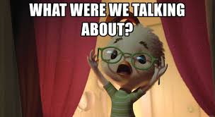 Who Are We Meme Generator - what were we talking about chicken little paranoia meme generator