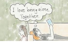 Together Alone Meme - i love being alone together being alone meme on me me