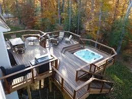 outdoor sitting area outdoor dining area sunken tub outdoor seating area