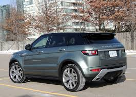 range rover rear 2015 range rover evoque review wheels ca