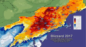 Boston Snow Total Map by Blizzard Of 2017 Dumps Over 3 Feet Of Snow 138 Mph Winds