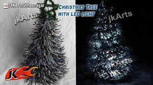 how to make tree with led light diy