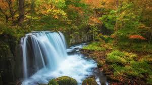 free fall wallpaper for computer waterfall rver fall nature water desktop wallpaper free download
