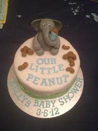 peanut baby shower our peanut baby shower cake cakecentral
