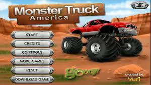 monster truck racing video moto monster truck america moto trix sports videos games for