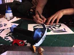 Master Sword Papercraft - papercraft papercraft advance wars blue moon fighter big gets a