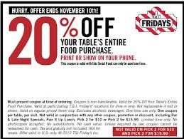 California Pizza Kitchen Coupon Code by Tgi Fridays Coupons 2017 Spotify Coupon Code Free