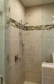 Shower In Bathroom Large Tile Shower In Master Bath Hill Ca Contemporary