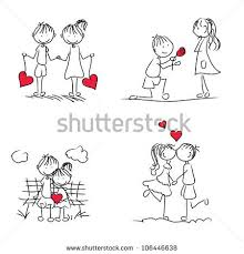 cute cartoon couple love hd wallpapers for valentines day all