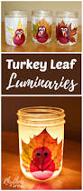 homemade thanksgiving centerpieces turkey leaf lanterns thanksgiving craft nature crafts