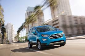 ford u0027s ecosport mini suv makes its north american debut in la