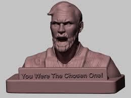 Obi Wan Kenobi Meme - 3d print model obi wan kenobi meme cgtrader