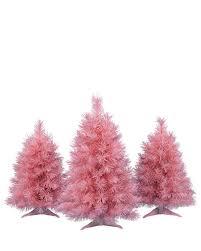 pretty in pink tabletop trees treetopia garden pre lit