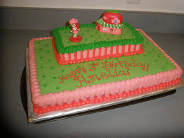 Strawberry Shortcake Cake Decorations Strawberry Shortcake Birthday Cake Kids With Food Allergies