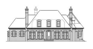 plantation style home plans country plantation style house plan 17690lv architectural