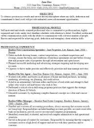 My Resume Agent Real Estate Resume Creative Idea Real Estate Resume Sample 15