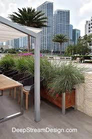 ginkgo giloba cement modern outdoor planter design u2013 modern garden
