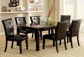Dining Table Set Espresso Elegant Espresso Dining Room Table Sets 85 For Glass Dining Table