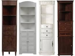 Bathroom Storage Corner Cabinet Corner Storage Cabinets For Bathroom Amusing Tall Corner Storage