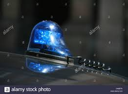 blue light on car blue light on top of police car roof stock photo 37327715 alamy