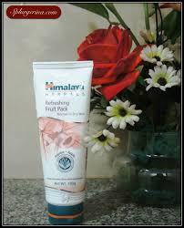 Masker Himalaya himalaya refreshing fruit mask review splurgerina