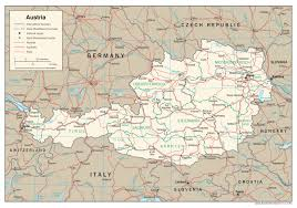 Autobahn Germany Map by Maps Of Austria Detailed Map Of Austria In English Tourist Map