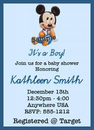 mickey mouse baby shower invitations baby mickey mouse baby shower invitations